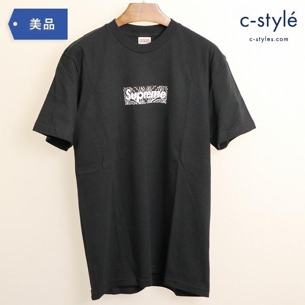 Supreme シュプリーム Bandana Box Logo Tee バンダナ ボックスロゴ Tシャツ 黒 S