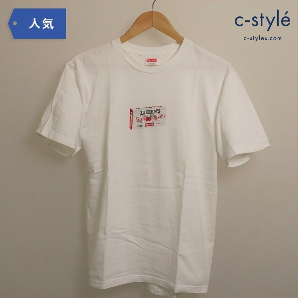 Supreme シュプリーム LUDEN'S Tee ルーデンスTシャツ ホワイト Sサイズ 18AW
