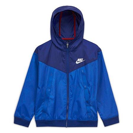 ナイキ キッズ(子供服) ジュニア ジャケット ナイキ スポーツウェア ウィンドランナー ブルー