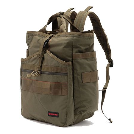 BRIEFING(ブリーフィング) バックパック・リュック GYM PACK MW OLIVE