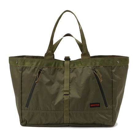 BRIEFING(ブリーフィング) トートバッグ GEAR TOTE XP OLIVE