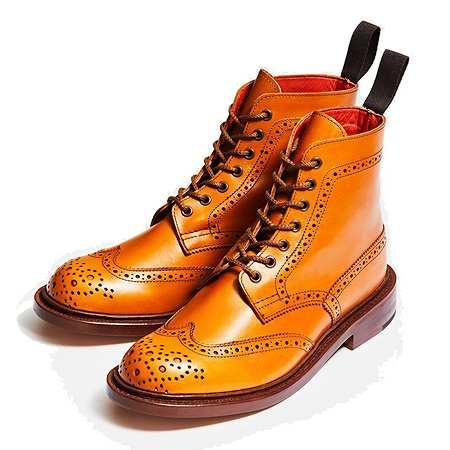 Tricker's(トリッカーズ) ブーツ L5676 STEPHY ACORN ANTIQUE LEATHER SOLE