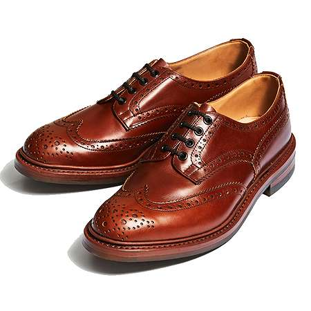 Tricker's(トリッカーズ) バートン M5633 BOURTON MARRON ANTIQUE DAINITE SOLE