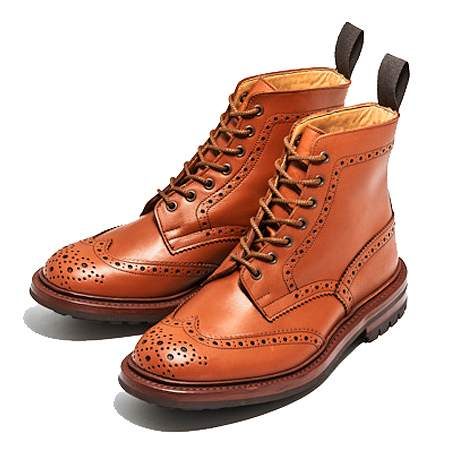 Tricker's(トリッカーズ) モールトン M2508 MALTON C-SHADE TAN COMMANDO SOLE