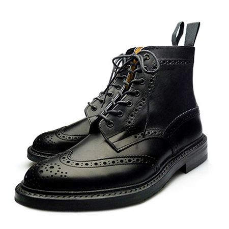 Tricker's(トリッカーズ) モールトン M2508 MALTON BOX CALF BLACK DAINITE SOLE