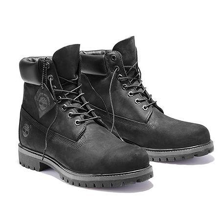Timberland(ティンバーランド) ブーツ 定番 6インチ プレミアム ウォータープルーフ ブーツ ブラック 10073