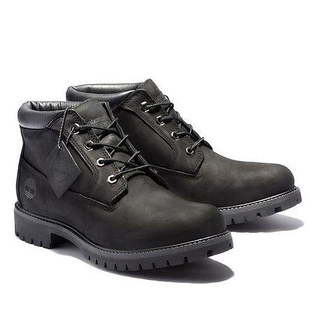 Timberland(ティンバーランド) ブーツ 定番 メンズ プレミアム ウォータープルーフ チャッカ ブーツ ブラック 32085