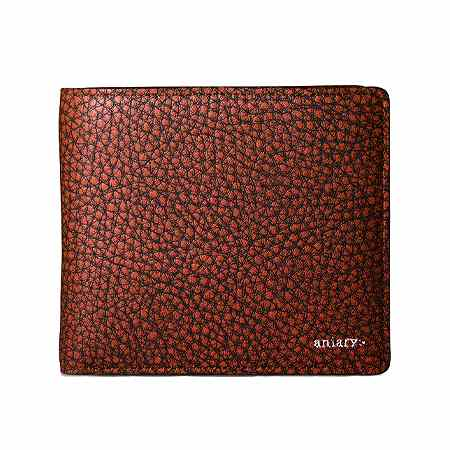 aniary(アニアリ) 財布 二つ折り Grind Leather 15-20000
