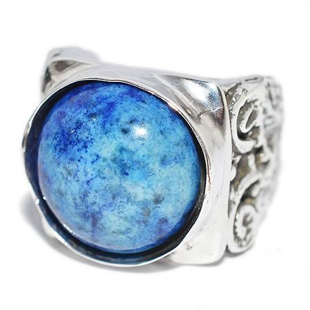 ALEX STREETER(アレックスストリーター) リング Lapis Lazuli Ionic Column Ring