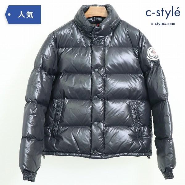 MONCLER モンクレール EVEREST エベレスト ダウンジャケット size2 ブラック 41310/50/68950