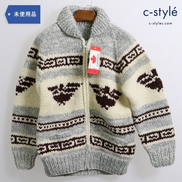 CANADIAN SWEATER COMPANY カナディアン セーター ジップアップ カウチン size38