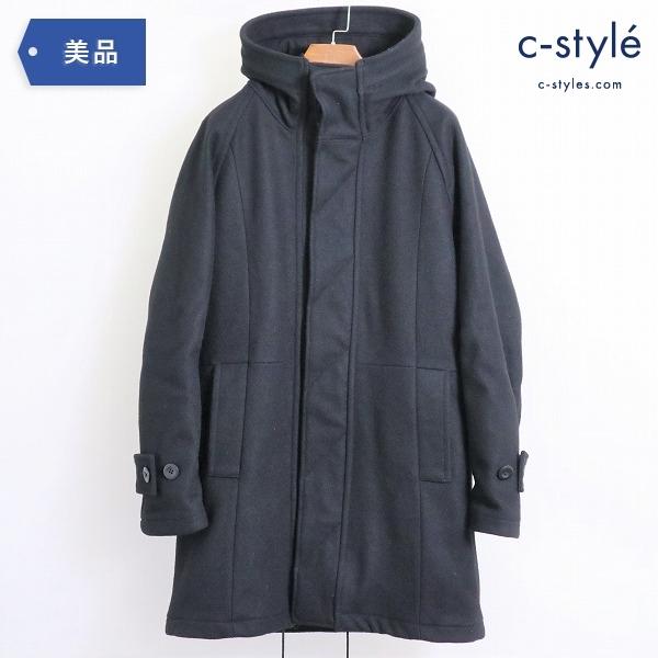 nonnative ノンネイティブ Hooded Coat メルトン フーデッドコート size1 GORE WINDSTOPPER