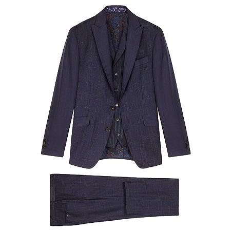 ETRO(エトロ) スーツ パッチワーク スリーピース スーツ