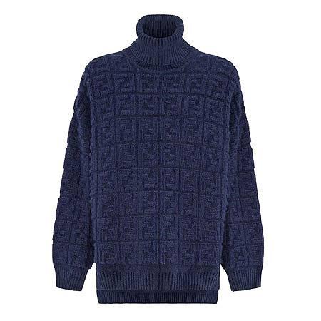 FENDI(フェンディ) ウェア ブルーモヘア セーター