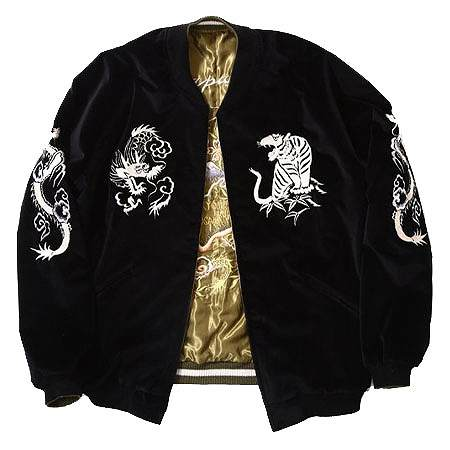 "GOLD(ゴールド) TAILOR TOYO × GOLD × ARK STANDARD ""Triple Collaboration 1940s Style Souvenir Jacket"""
