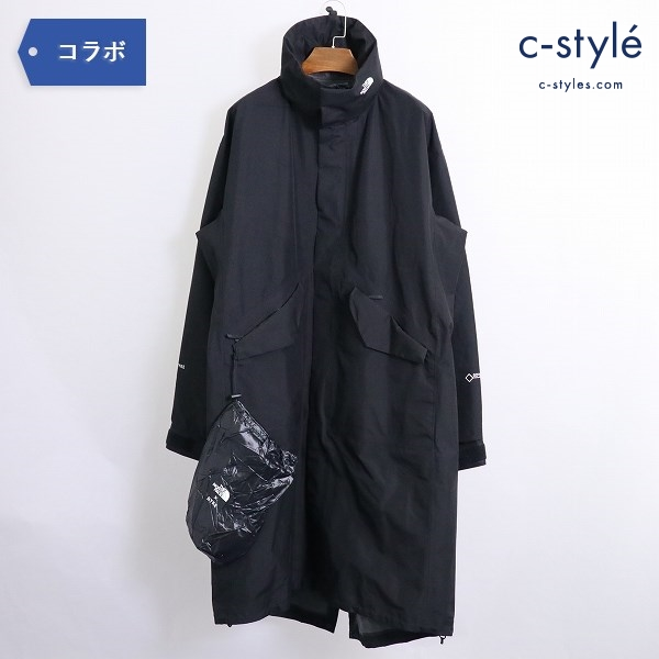THE NORTH FACE x HYKE 19SS GTX ミリタリーコート NP192HY ブラック size M