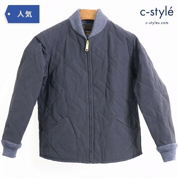 JELADO ジェラード キルティング ジャケット 中綿 ブルゾン ブラック size M