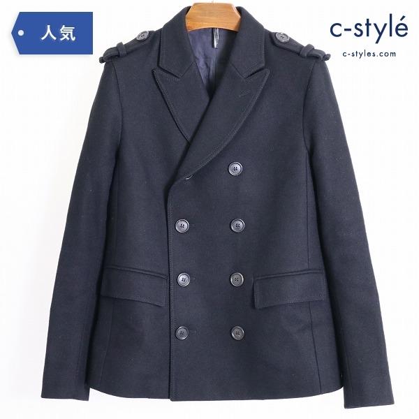 Dior Homme ディオール オム Pコート ショート size38 エディスリマン期 ウール ブラック