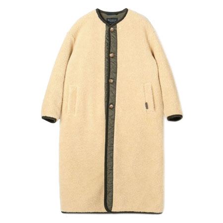 LAVENHAM(ラベンハム) コート シェルパロングコート ボア×ラブンスター