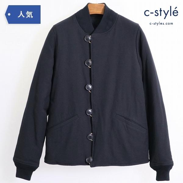 Visvim ビズビム CORPS JKT WOOL リバーシブル ジャケット size1 ウール 中綿 ブラック