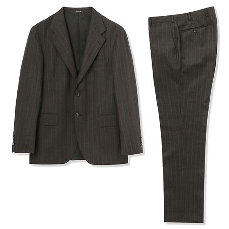 MACKINTOSH(マッキントッシュ) スーツ CERRUTI NEW BRIDGE ブラウンドビーストライプスーツ