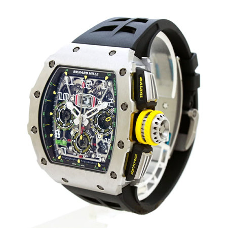 RICHARD MILLE(リシャールミル) RM11-03 Ti オートマティック フライバッククロノグラフ メンズ