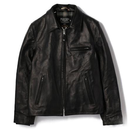 Schott(ショット) ライダースジャケットスペシャルホースハイド トラッカー ジャケット ブラック