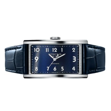 Tiffany(ティファニー) 腕時計 ティファニー イースト ウエスト オートマティック 3-ハンド 46.5 X 27.5MM ウォッチ ステンレススチール
