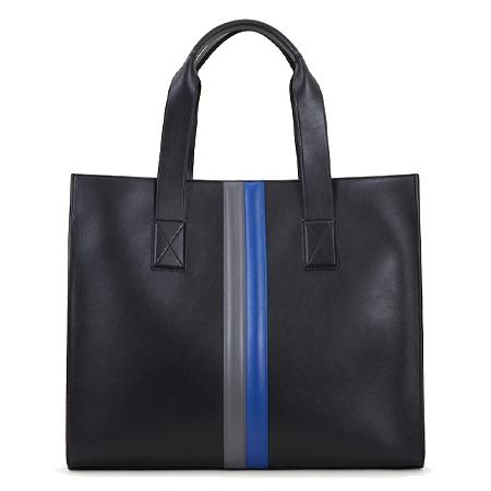 TOD'S(トッズ) バッグ ショッピング バッグ ミディアム ブラック ブルー グレー