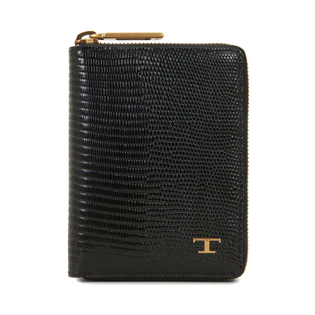 TOD'S(トッズ) ウォレット WALLET IN LEATHER ブラック