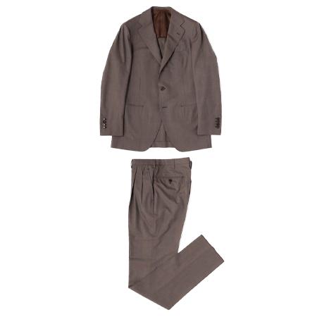 TOMORROWLAND(トゥモローランド) スーツ Super190'sウール 段返り3Bスーツ ERMENEGILDO ZEGNA 14MILMIL14