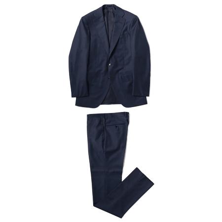 TOMORROWLAND(トゥモローランド) スーツ ウールシャークスキン 段返り3Bスーツ TROFEO Ermenegildo Zegna