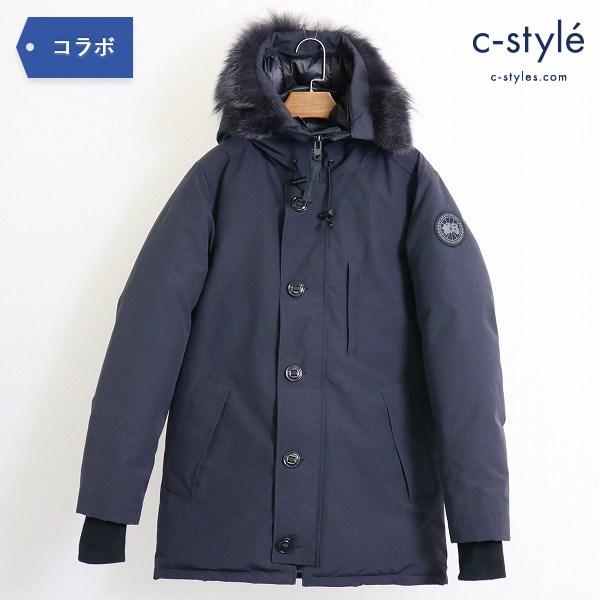 CANADA GOOSE x EDIFICE 別注 シャトー CHATEAU ブラックレーベル ダウンジャケット S