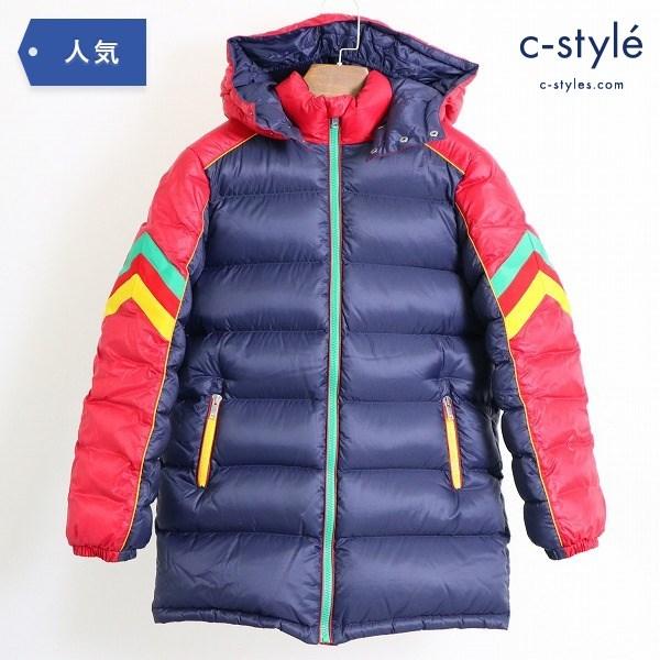 GUCCI グッチ キッズ ダウンジャケット マルチカラー 10サイズ フード 着脱 イタリア製 子供服