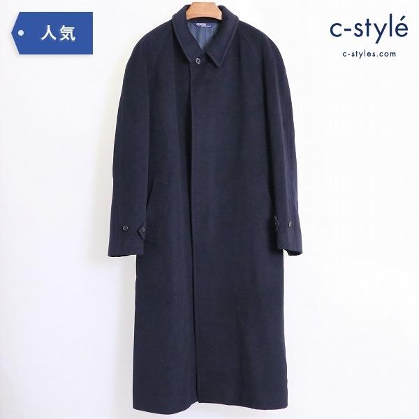 Polo Ralph Lauren ラルフローレン ウール100% ロング ステンカラー コート sizeA6 日本製