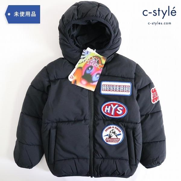 JOEY HYSTERIC ジョーイヒステリック 中綿 ジャケット S 100cm 子供服 ワッペン