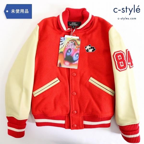 JOEY HYSTERIC ジョーイヒステリック PANDA MANIA スタジャン 120cm RED/20 子供服