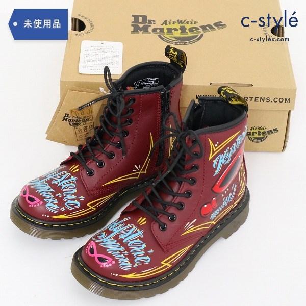 Dr.Martens ヒステリックミニ HYSTERIC BABY BUG ブーツ 19cm ハンドペイント 子供 靴