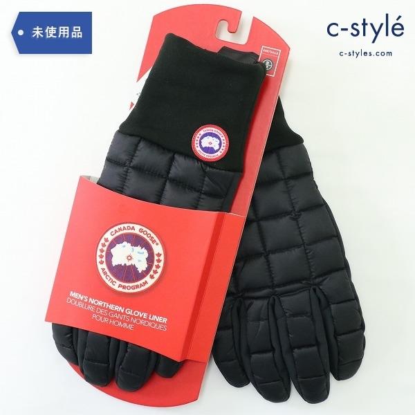 CANADA GOOSE カナダグース ダウン グローブ M スマホ対応 滑り止め 保温 手袋