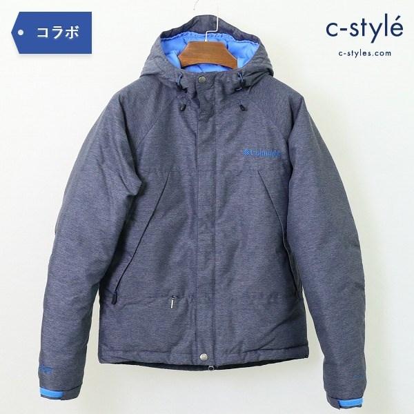 Columbia コロンビア x BLUE BLUE ブルーブルー ダウンジャケット XS OMNI-HEAT
