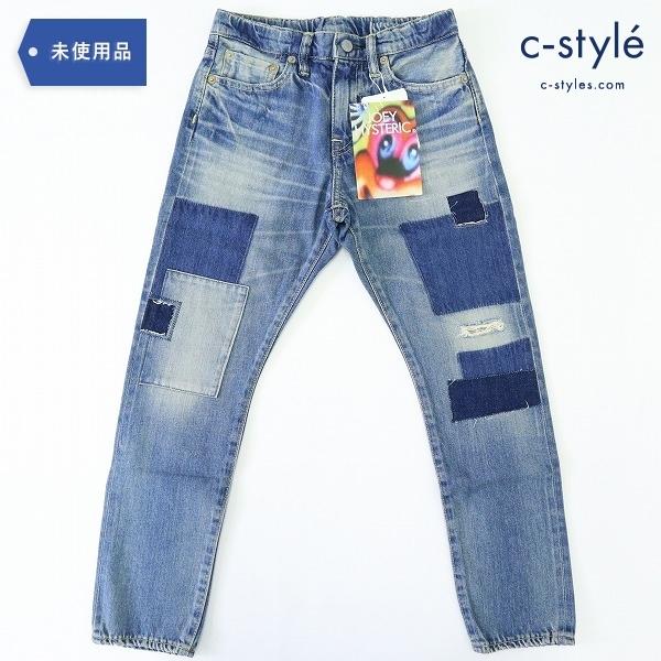 JOEY HYSTERIC ジョーイヒステリック デニム パンツ パッチワーク 140cm 子供服
