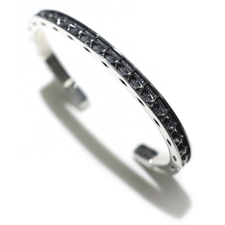 1PIU1UGUALE3 × CODY SANDERSON(ウノピゥウノウグァーレトレ×コディサンダーソン) silver bangle thin