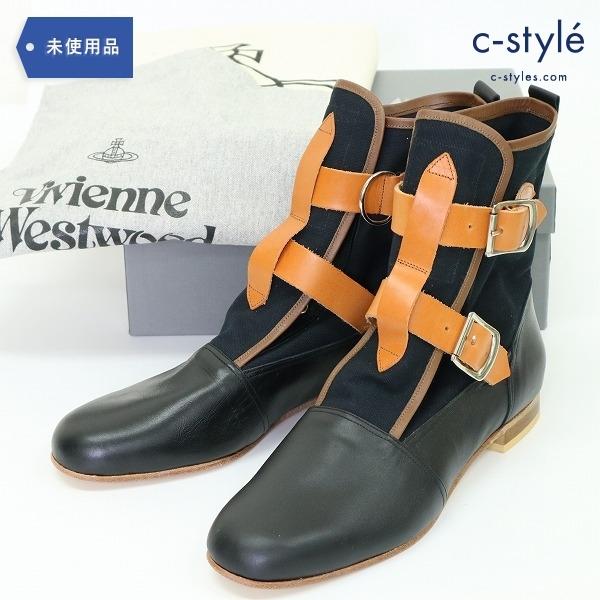ヴィヴィアン ウエストウッド セディショナリーズ ブーツ size10 レザー