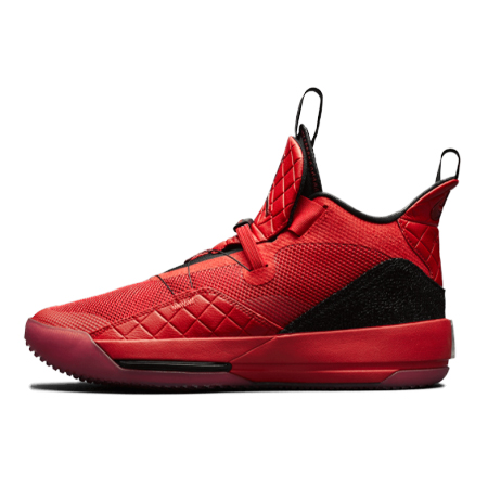 NIKE AIR JORDAN33(ナイキ エアジョーダン33) XXXIII OG UNIVERSITY RED/UNIVERSITY RED-BLACK-SAIL