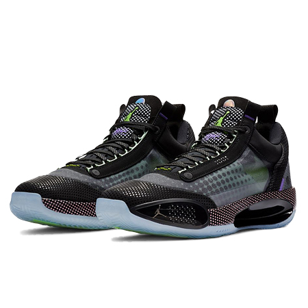 NIKE AIR JORDAN24(ナイキ エアジョーダン34) LOW PD black/white-vapor green