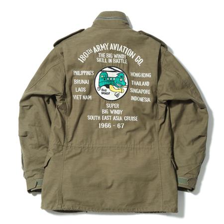 "Buzz Rickson's(バズリクソンズ)M-65 No. BR14613 / Type M-65 ""BUZZ RICKSON MFG. CO., INC. 180th ARMY AVIATION CO."""