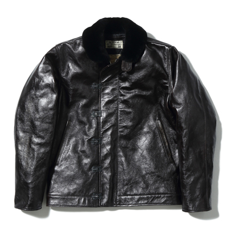 Buzz Rickson's(バズリクソンズ)N-1 No. BR80580 / Type BLACK LEATHER N-1