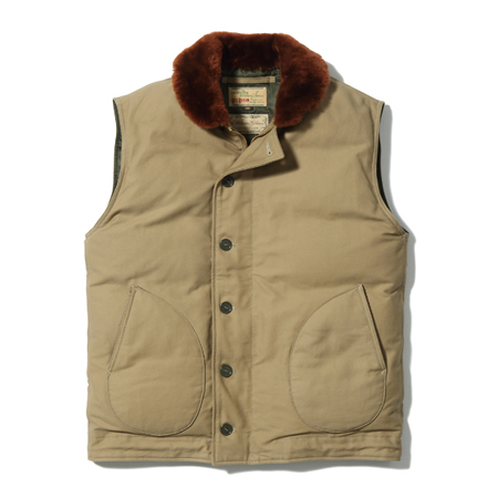 Buzz Rickson's(バズリクソンズ)N-1 No. BR14368 / Type N-1 DOWN VEST