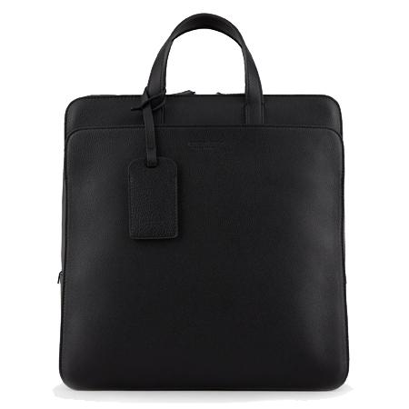 GIORGIO ARMANI(ジョルジオアルマーニ)バッグ 縦型ブリーフケース フルグレインレザー製
