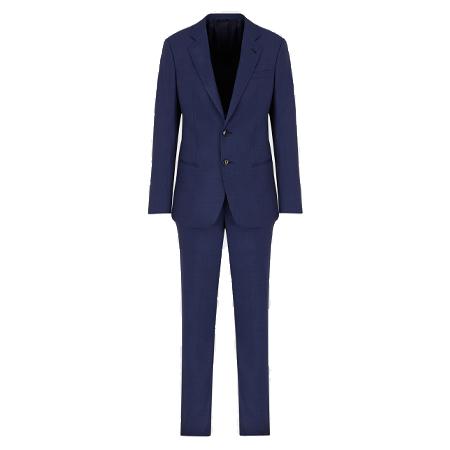 GIORGIO ARMANI(ジョルジオアルマーニ)スーツ ソーホーライン スリムフィットスーツ ウール製 ハーフキャンバス エンドオンエンド